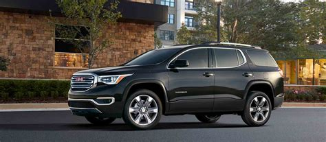 gmc acadia  offer  handful