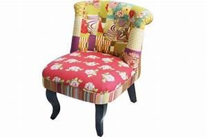 Design Fauteuil Pas Cher : fauteuil crapaud patchwork fauteuils design pas cher ~ Teatrodelosmanantiales.com Idées de Décoration