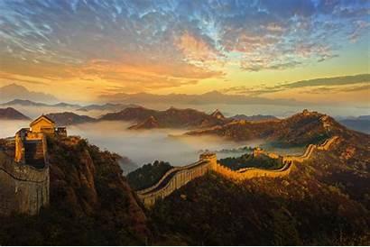 China Wall Landscape Wallpapers Backgrounds Mobile Desktop