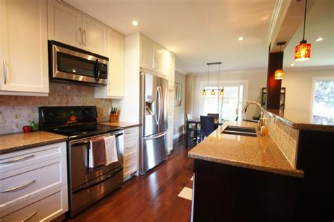 kitchens galley style galley style kitchen traditional kitchen toronto 3562