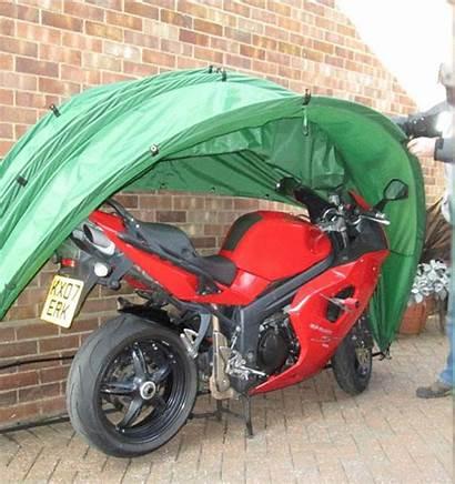Motorcycle Shelter Wall Mounted Fold Outdoor Bikermart