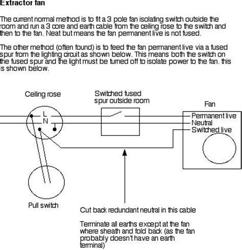 How Wire Bathroom Fan Bath Fans