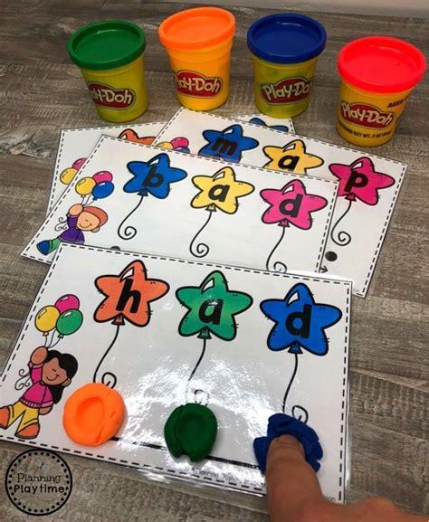 cvc words  images preschool activities