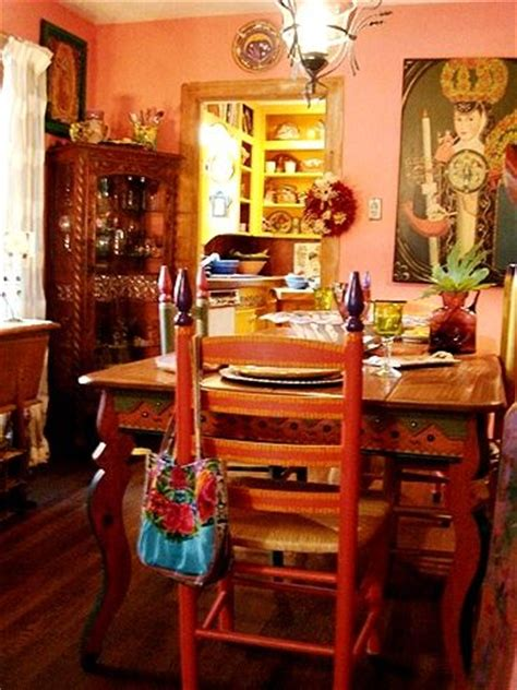 Colorful Mexican Dining Room  Decorating Pinterest