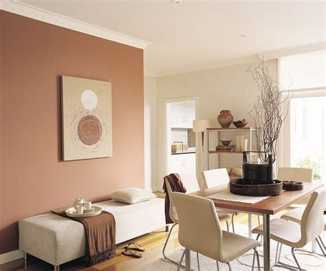 brown feature wall inspirations paint