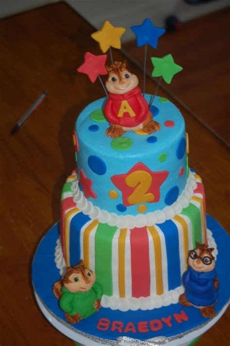 alvin and the chipmunks cake decorations alvin and the chipmunks cake cake ideas