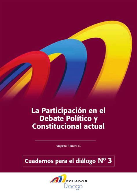 Ecuador Dialoga 3 by Vi.era - Issuu