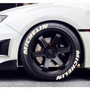 tire stickers fastwrxcom With 18 inch white letter tires