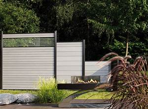 Zaun Aus Glas : wpc sichtschutz ~ Michelbontemps.com Haus und Dekorationen