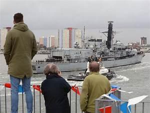 Drug-busting and life-saving HMS Richmond returns home ...