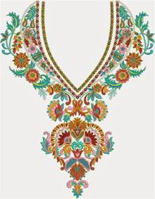 embroidery designs embdesigntube neck yoke gala embroidery designs of kameez dresses