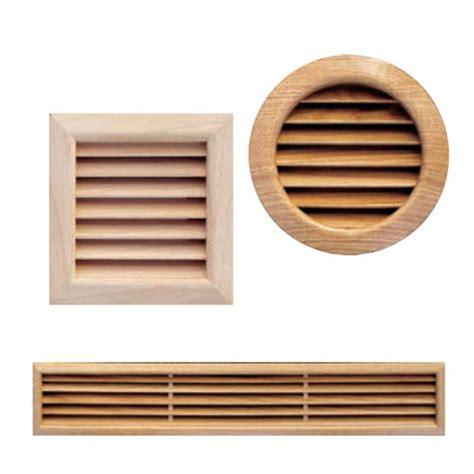 grille de ventilation grilles de ventilation en bois massif plast