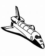 Shuttle Space Coloring External Tank Without Nasa Rocket Booster Its sketch template