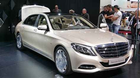 unique end mercedes maybach s600 from the family of the s class
