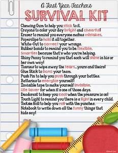 A FIRST YEAR TEACHERS SURVIVAL KIT TeachersPayTeachers