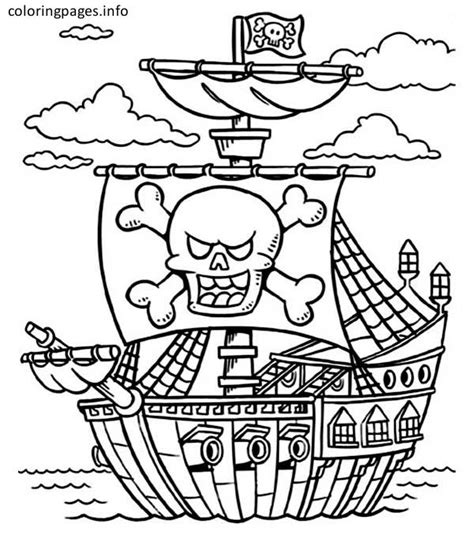 pirate ship coloring page printable pirate ship coloring pages 357 pirate