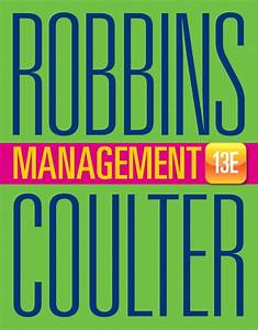 Solution Manual For Management  13th Edition By Stephen P