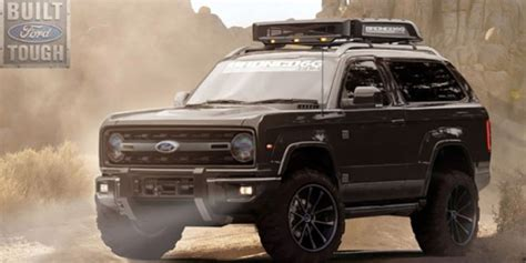 New Ford Bronco Concept Fan Site Envisions 2020 Model In