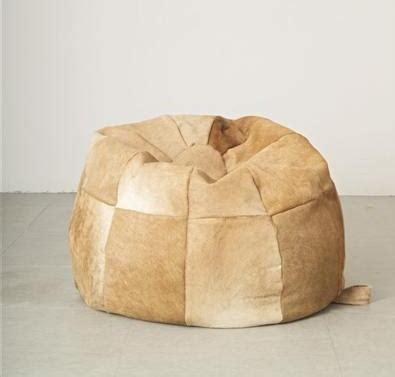 Cowhide Company by Large Cowhide Bean Bag The Cowhide Company