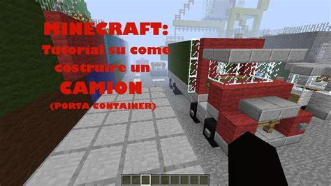 Minecrafttutorial Su Come Costruire Un'auto (camion