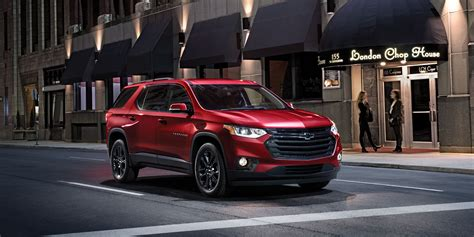 chevrolet traverse red color  hd wide wallpaper