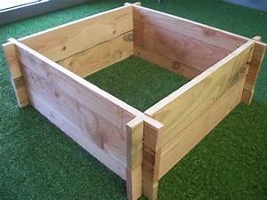 Bac Bois Potager : achat carre potager bois ~ Melissatoandfro.com Idées de Décoration