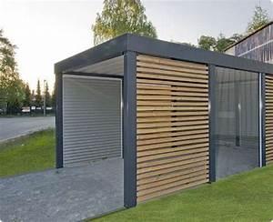 Construire Un Carport : carport en bois et m tal car port pinterest carport ~ Premium-room.com Idées de Décoration