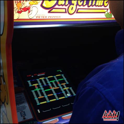 Burger Time Video Arcade Game Record A Hit Entertainment