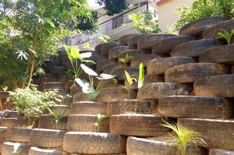muros con llantas la paz en floridablanca requiere muro de contenci 243 n