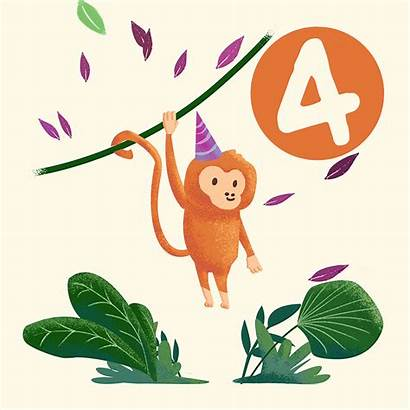 Ecard Critters Monkey