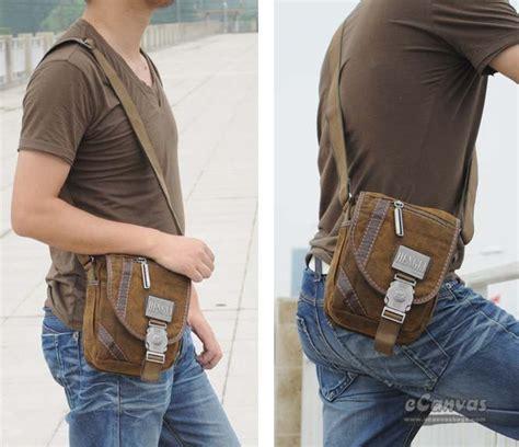 mens satchel messenger bag motorcycle messenger bag khaki  shoulder bag  canvasbags