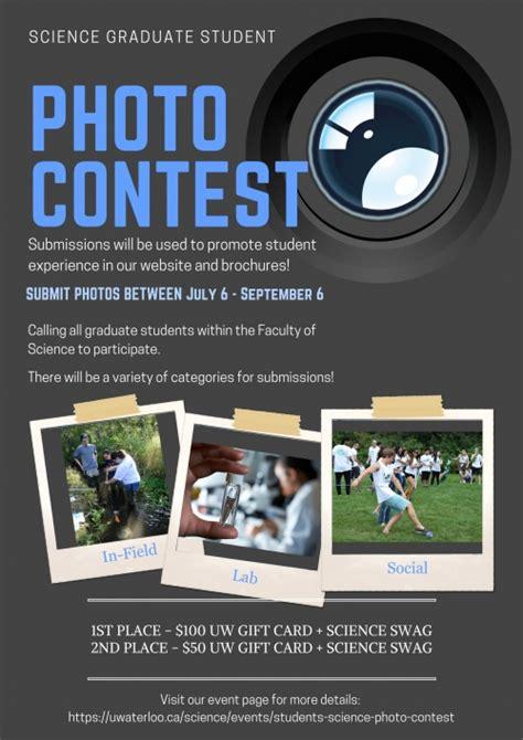 science graduate student photo contest science