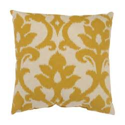 azzure gold square throw pillow