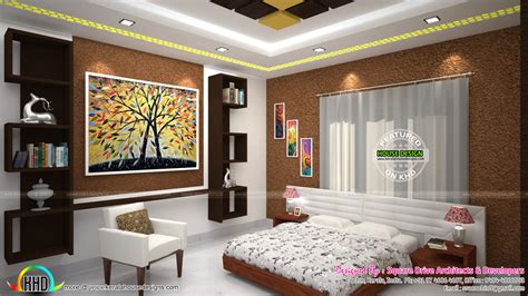 25 best ways to update your master bedroom. Master bedroom, living and Wardrobe designs - Kerala home ...