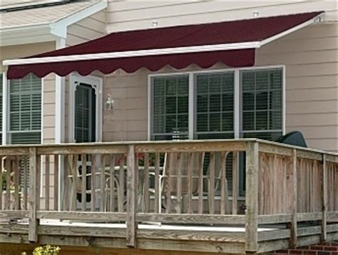 manual retractable awnings rainwear
