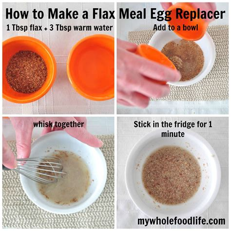 how to make eggs how to make a flax egg my whole food life