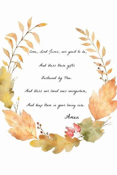 Before Grace Printable Fall Meals Blessing Stonegableblog