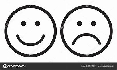 Sad Smiley Face Happy Symbols Clipart Icons