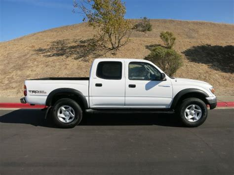 2002 Toyota Tacoma Mpg by 2002 Toyota Tacoma Prerunner Cab V6 2wd In Pinole