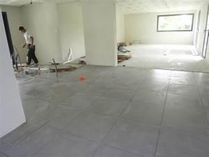 Carrelage Blanc Mat : maison carrelage gris clair ~ Melissatoandfro.com Idées de Décoration