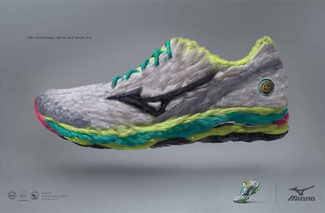 Mizuno: Feathers Running Shoe   Gute Werbung