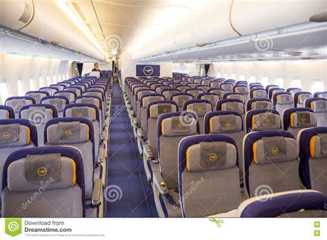 siege avion air avion d 39 airbus a380 à l 39 intérieur des sièges photo
