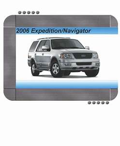 Ford Expedition  Lincoln Navigator 2006 Factory Service  U0026 Shop Manual
