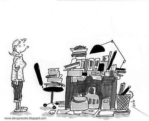 dessin humoristique travail bureau la rentrée pour les profs en dessins par koch