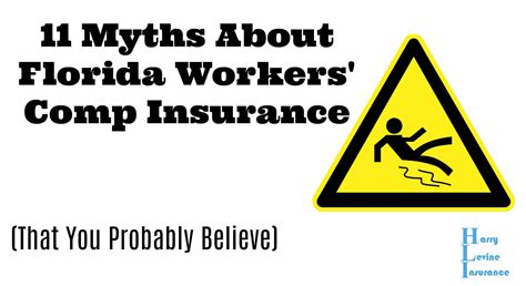 A workers' comp policy covers any expenses related to medical attention or loss of income like most insurance policies, the standard workers' comp form contains a subrogation clause. 11 Myths About Florida Workers Comp Insurance   Harry ...
