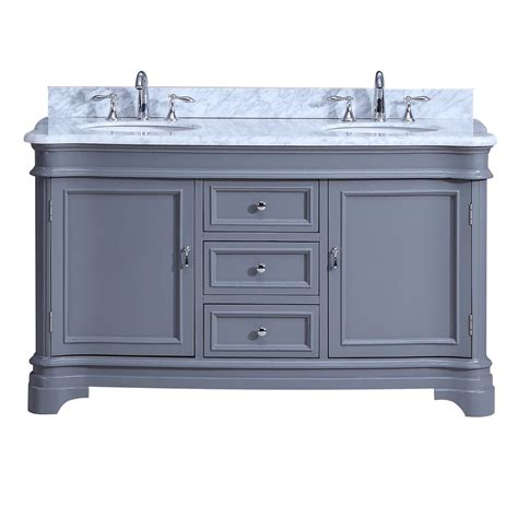 Cambria Vanity by Cambria Vanity 60inch Grey Home Surplus