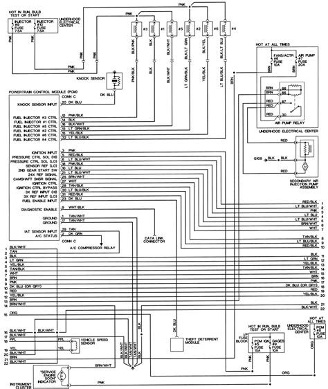 98 Camaro Engine Wiring Diagram by Repair Guides Wiring Diagrams Wiring Diagrams