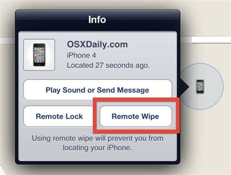 an iphone remotely how to remote wipe an iphone or