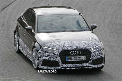 Spyshots New Audi Spotted Testing The Track Paul