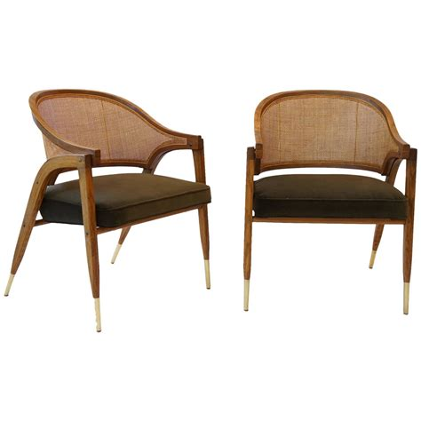 pair of edward wormley chairs for dunbar at 1stdibs